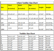 Pajama Size Chart Munki Munki