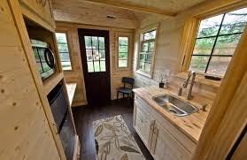 Tiny House Tour Of Fire Lookout Raw Ayurveda Nomad Homes Home - Tiny house on wheels interior