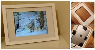 transform an ipad into a digital photo frame for 10 no tools dataespresso