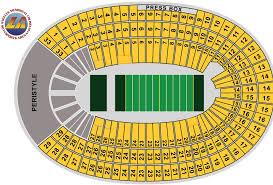 Usc Coliseum Seating Chart Los Angeles Memorial Coliseum Maplets