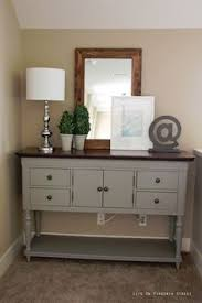 grey painted furnitureWeekend Painting in the Upstairs Hallway  Annie sloan chalk paint