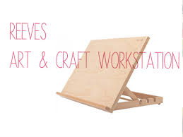 reeves art and craft workstation unboxing
