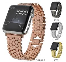 honeycomb metal strap for apple watch band 38mm 40mm 42mm 44mm bracelet watch
