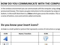 microsoft word icon microsoft word icon worksheet by chloehoppy teaching resources tes