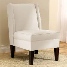 skyline furniture linen talc wingback chair talc beige off white upholstered