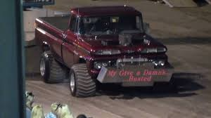 Truck chevy 1960 truck : 1960 Chevy 4x4 Super Stock Truck Pull - YouTube