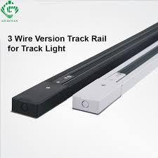 track lighting rails. go ocean 1m led track light rail 3 wire aluminum lighting fixture for rails a