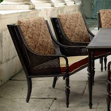 bombay outdoors sherborne patio dining chairs with venice cushions