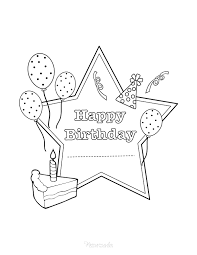 We have over 3,000 coloring pages available for you to view and print for free. 55 Best Happy Birthday Coloring Pages Free Printable Pdfs