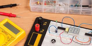Basic Electronic Formulas Chart Introduction To Basic Electronics Electronic Components And