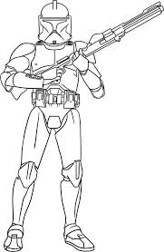 Small Picture Beautiful Star Wars Clone Trooper Coloring Pages 67 For Line