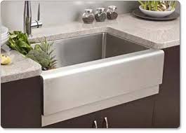 stainless steel apron sink. Houzer Epicure Farmhouse Kitchen Sink For Stainless Steel Apron