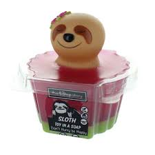 sloth toy in soap 598 p jpg