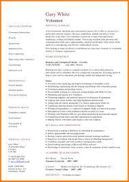 Volunteer Work On Resume 100 Resume Volunteer Work Mla Cover Page 93