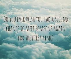 2nd Chance Quotes. QuotesGram