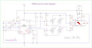 Inverter Circuit Design Using Mosfet Pwm Inverter Circuit