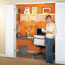 office in a closet ideas. No Space For An Office? How About Building Office Closet? Here Are 10 In A Closet Ideas E