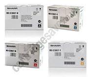 sharp mx c300w. genuine 4 colour sharp mxc-30gt toner cartridge multipack - (mxc-30gtb/ mx c300w