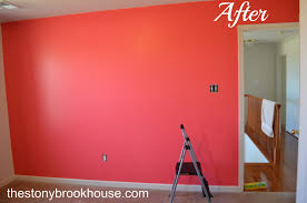 Coral Bedroom Paint Wall Coral Wall Paint