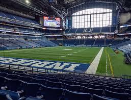 Lucas Oil Stadium Section 124 Seat Views Seatgeek