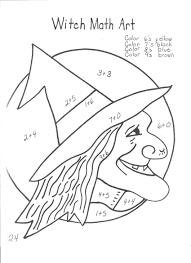 witch_math_art worksheet 12241584 halloween division worksheets raven on 9th grade math worksheets printable