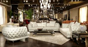 luxury leather sofas and chairs. aico furniture - mia bella ellia leather tufted 2 piece living room set in frosted cream luxury sofas and chairs n