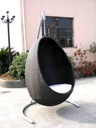 design modest wicker egg chair omier outdoor egg chair swing hanging chair furniture omr c005