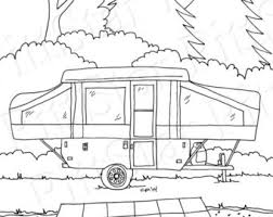 Instant Download Fifth Wheel Travel Trailer Printable Etsy