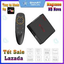 Android Tivi Box Magicsee N5 Nova - Ram 4GB. Rom 32GB, Android 9.0 - Điều  khiển Voice search - P694537   Sàn thương mại điện tử của khách hàng  Viettelpost