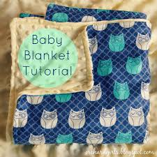 orchard girls super easy diy baby blanket tutorial with minky fabric