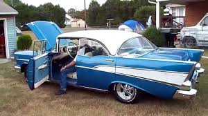 1957 Chevy BelAir 4 Door Hard Top 9/22/2010 - YouTube