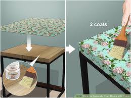 image titled decorate your room with paper step 11 decorating furniture paper e85 furniture