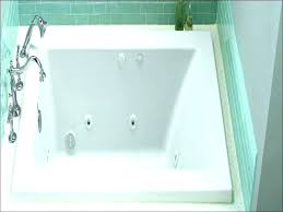 american standard bathtub in white acrylic freestanding