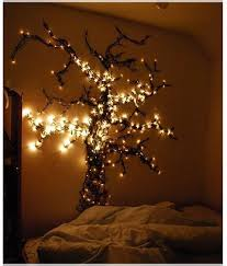 bedroom wall ideas pinterest. Tree Bedroom Decoration From One Of 15 Creative Ideas For Hang Christmas Lights In A Decorating I LOVE THIS. Will Have To Find Lights! Wall Pinterest