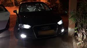 Audi Coming Home Lights Audi A3 2013 Coming Leaving Home Lights Youtube