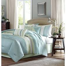 blue and tan bedding made from polyester jacquard and a brushed fabric reverse this comforter is blue and tan bedding