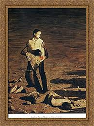 southern justice murder in mississippi 28x36 large gold ornate wood framed canvas art by on large gold framed wall art with amazon southern justice murder in mississippi 28x36 large