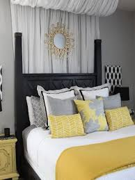 bedroom ideas yellow and grey usefull