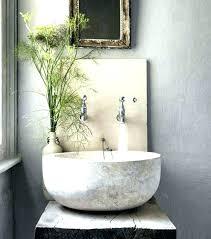 stone vessel bathroom sinks stone sink bowl powder room sinks bowl shaped stone vessel sink on stone vessel bathroom sinks