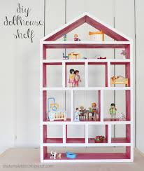 Free Diy Projects Ana White Dollhouse Wall Shelf Diy Projects