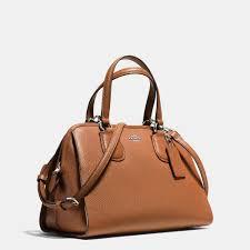 Lyst - Coach Nolita Satchel In Pebble Leather in Brown