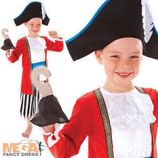 image is loading captain pirate boys fancy dress story book character