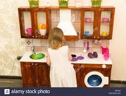 Preschool Kitchen Furniture Children Girl Stock Photos Children Girl Stock Images Page 57