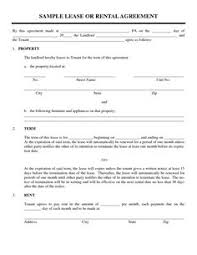 Simple Rental Agreement Template Free Rental Forms To Print Free And Printable Rental Agreement
