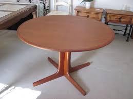 Remarkable Ideas Round Teak Dining Table Surprising Idea Vintage Danish  Teak Dining Table