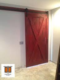 x brace barn doors