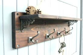 Coat Hook Rack With Shelf New Coat Rack With Shelf Ikea Mounted Coat Rack Brown Wooden Coat Hanger