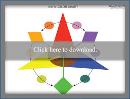 Basic Color Chart For Kids Printable Color Wheel Chart For Kids Lovetoknow