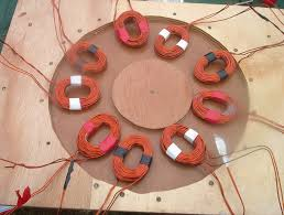 picture of build the coil disk