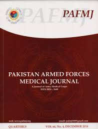 2014 Army Pay Chart Pdf Vol 64 No 4 2014 December Pakistan Armed Forces Medical
